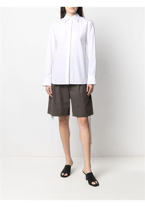 Helmut lang open-back shirt women white HELMUT LANG   L02HW503100