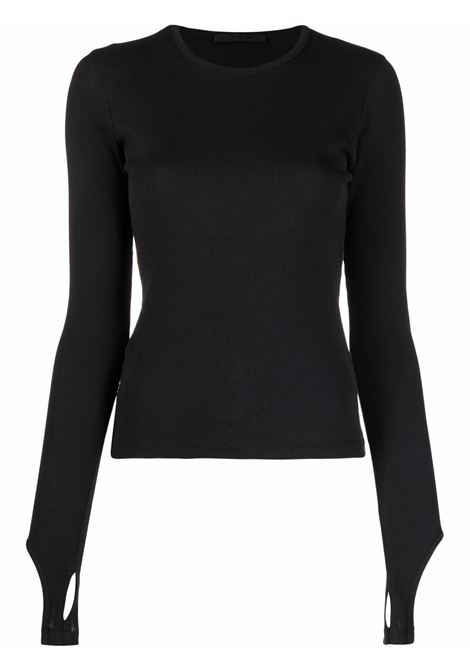 Helmut lang cut-out top women black HELMUT LANG | Top | L02HW507YVM
