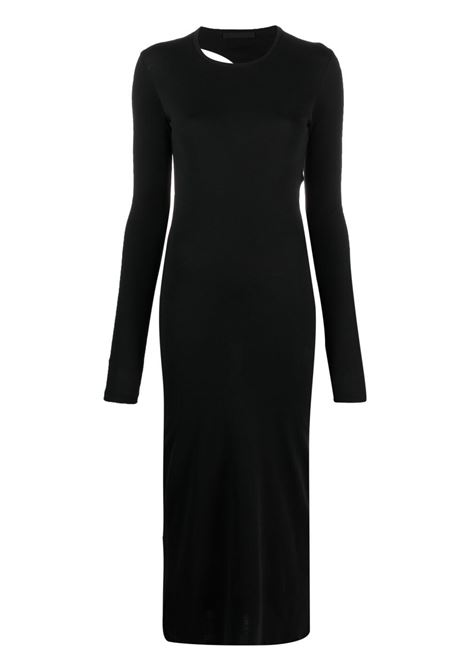 Helmut lang cut-out maxi dress women black HELMUT LANG | Dresses | L02HW605YVM