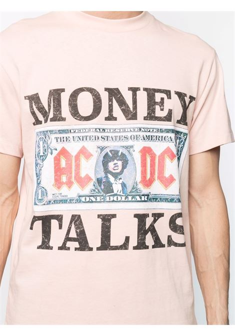 Acdc money talks t-shirt men blush IH NOM UH NIT | NUS21271133