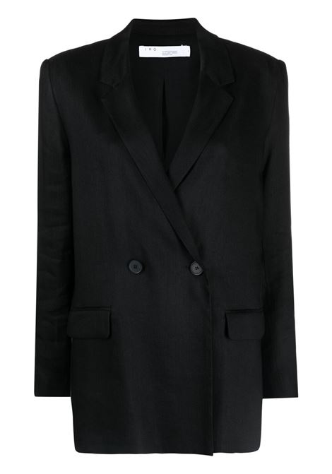 Longline double-breasted blazer  IRO | Blazers | 21SWM07CASSIUSBLA01