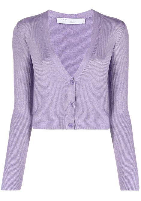 Cropped V-neck Cardigan IRO | Sweaters | 21SWM13IDRISPUR11