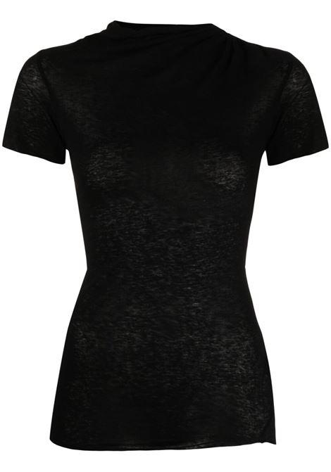 Iro janete t-shirt women black IRO | T-shirt | 21SWM19JANETTEBLA01