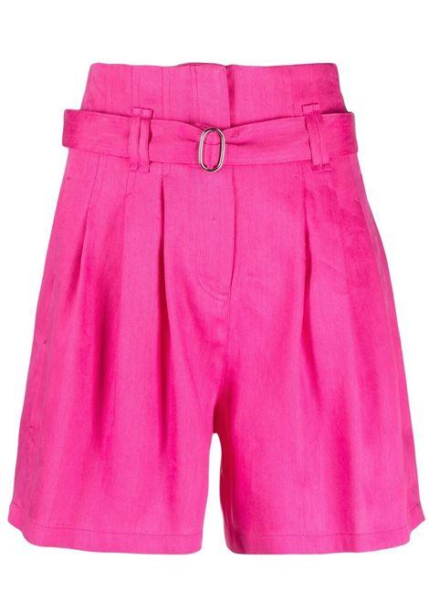 Iro high-rise shorts women pink IRO | Shorts | 21SWM30ENIDPIN01