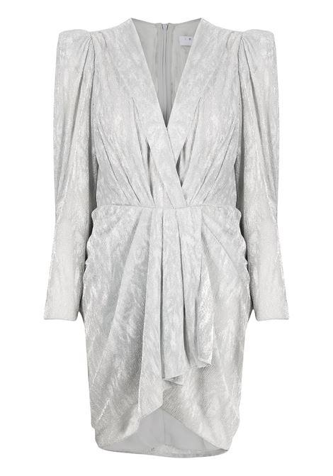 Metallic gathered mini dress IRO | Dresses | 21SWM33DAZSIL01