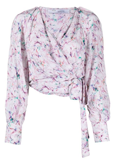 Iro blusa azza donna light pink multi IRO | Bluse | 21SWP16AZZAPIN11