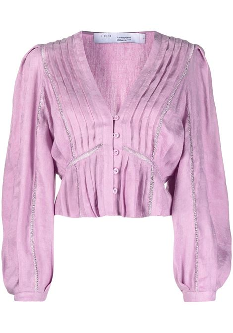 Iro blusa chiara donna light purple IRO | Bluse | 21SWP16CHIRAPUR03