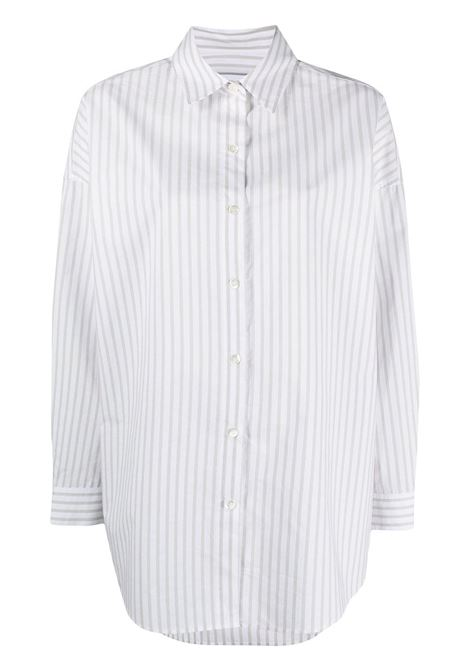 Iro camicia a righe donna white grey IRO | Camicie | 21SWP18BEAUTYWHI38