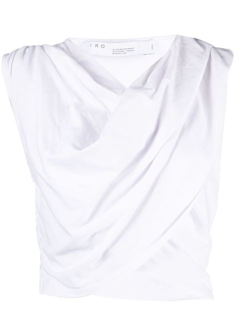 Iro top corto donna white IRO | Top | 21SWP19MENTWHI01