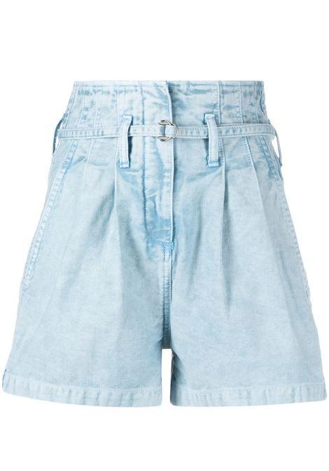High-waisted shorts IRO | Shorts | 21SWP30TRABBLU49