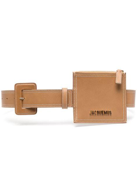 Jacquemus cintura la ceinture donna beige JACQUEMUS | Cinture | 211AC15211316150