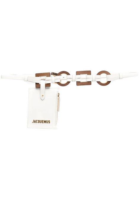 Jacquemus  cintura la ceinture ano donna white JACQUEMUS | Cinture | 211AC17211300100