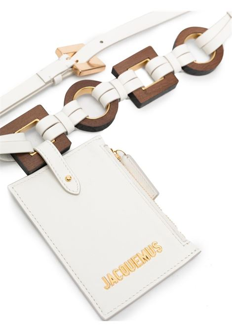 Jacquemus la ceinture ano belt women white JACQUEMUS   211AC17211300100
