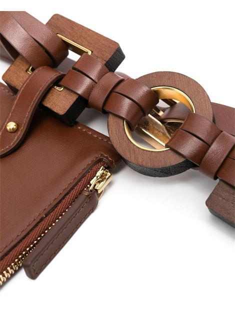 Jacquemus la ceinture ano belt women brown JACQUEMUS   211AC17211300800