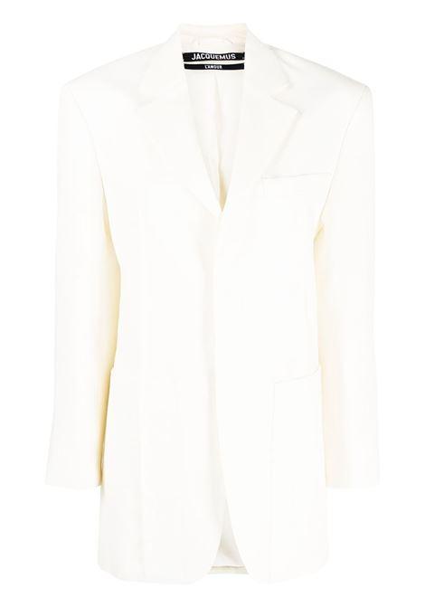 Jacquemus blazer la veste d'homme donna light beige JACQUEMUS | Giacche | 211JA04211101110