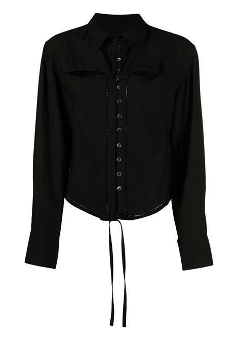 Lace-up Shirt JACQUEMUS | Shirts | 211SH10211102990