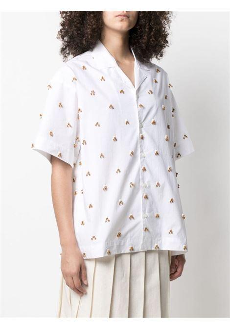 Jacquemus la chemise jean shirt women white embroidered JACQUEMUS   211SH20211119100