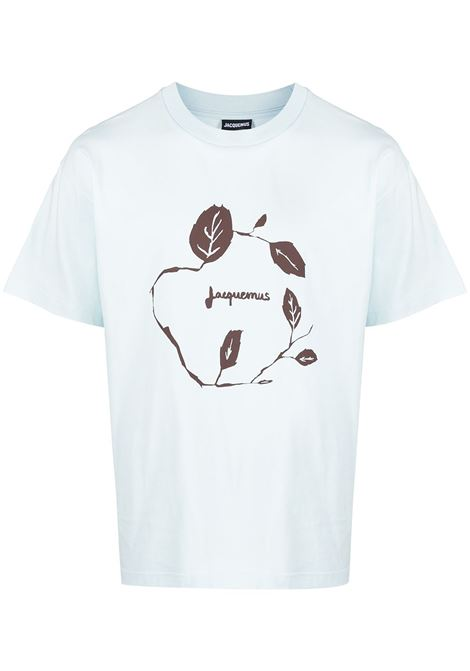 Leaf-print T-shirt JACQUEMUS | T-shirt | 215JS1221522403L