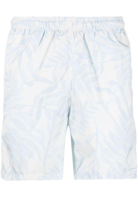Leaf print shorts JACQUEMUS | Swimwear | 215PA13215121143