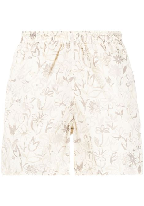 Leaf print shorts JACQUEMUS | Swimwear | 215PA13215121833