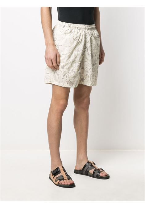 Leaf print swimshorts JACQUEMUS | 215PA13215121833