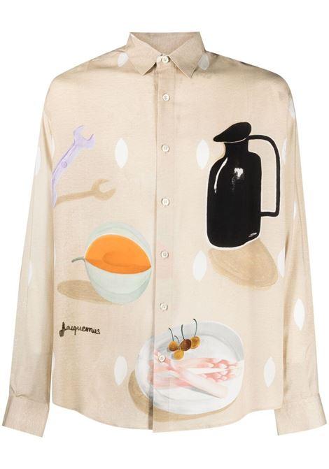 Graphic-print shirt JACQUEMUS | Shirts | 215SH03215111853