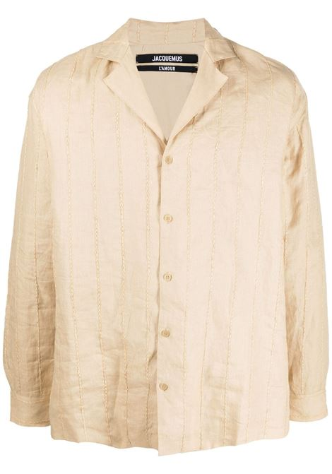 La chemise Raphia shirt JACQUEMUS | Shirts | 215SH11215120810