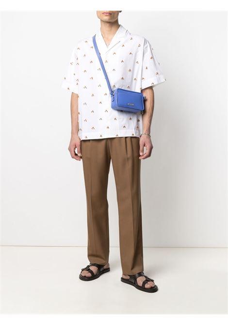 Jacquemus la chemise blé shirt men white embroidered JACQUEMUS | 215SH20215119107