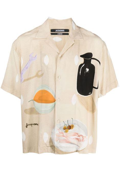 Jean bowling shirt JACQUEMUS | Shirts | 215SH21215111853