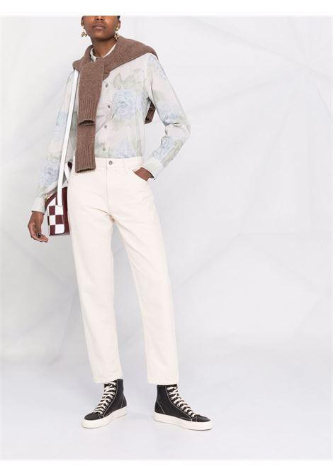 Jil sanders straight-leg jeans women open beige JIL SANDER   JPPS663107WS246500280