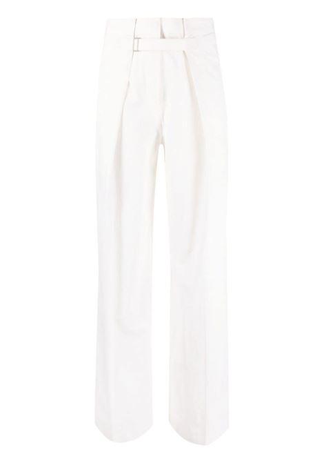Pantaloni a gamba ampia Donna JIL SANDER | Pantaloni | JSWS305005WS251300101