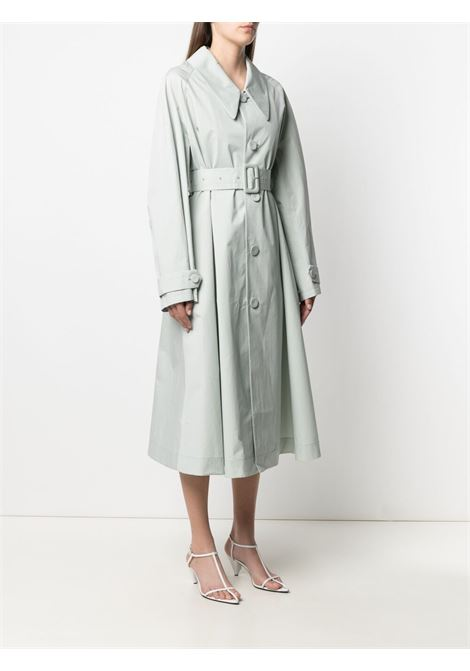 Jil sanders belted trench coat women light pastel grey JIL SANDER   JSWS475005WS251500055