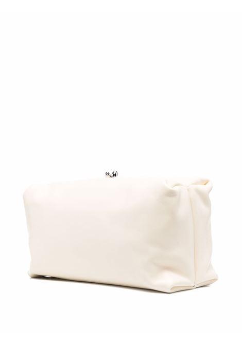 Jil sanders clasp-fastening clutch women natural JIL SANDER   JSWS856465WSB01046N105