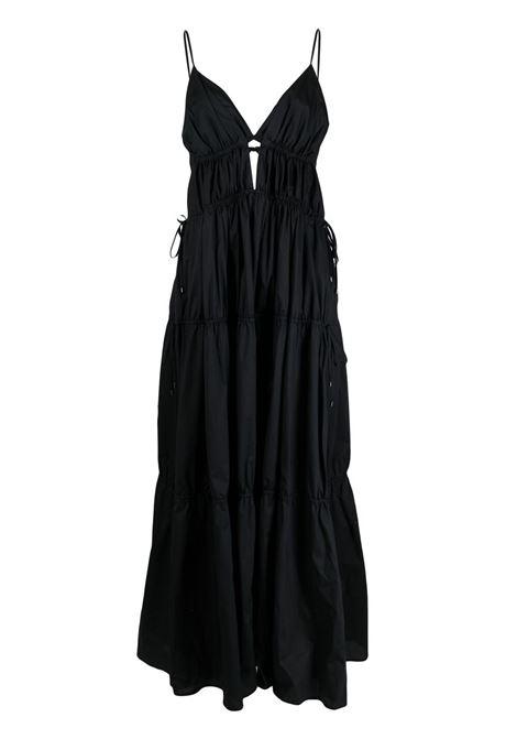 Jonathan simkhai flared maxi dress women black JONATHAN SIMKHAI   Dresses   2211005DBLK