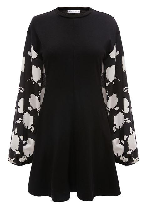 Jw anderson floral dress women black white JW ANDERSON | Dresses | JD0007PG0482901