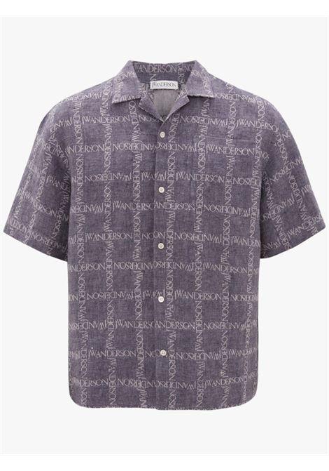 Camicia con stampa Uomo JW ANDERSON | SH0083PG0211888