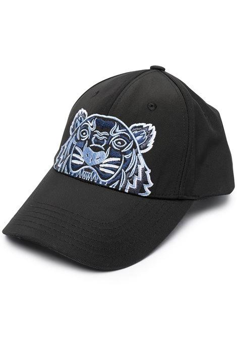 Kenzo cappello con logo uomo noir KENZO | Cappelli | FA65AC301F2099F