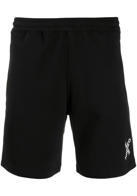 Kenzo bermuda sport little x uomo noir KENZO | Bermuda | FA65PA7204MS99