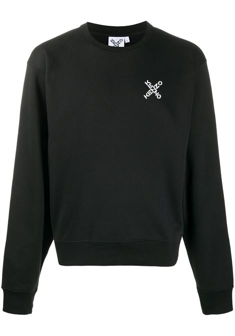 Felpa con logo Uomo KENZO | FA65SW0014MS99