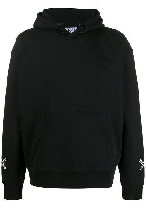 Kenzo felpa con logo uomo noir KENZO | Felpe | FA65SW5304MS99