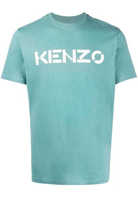 T-shirt con stampa Uomo KENZO   T-shirt   FA65TS0004SJ62