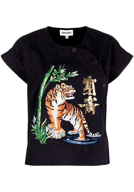 Tiger motif T-shirt KENZO | T-shirt | FB52CH0339KE99