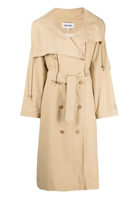 Double-breasted trench coat KENZO | Outerwear | FB52MA0419SB11