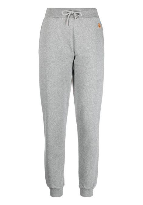 Kenzo pantaloni sportivi con ricamo donna tourterelle KENZO | Pantaloni | FB52PA7224ML95