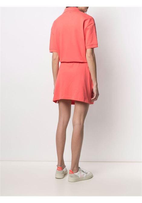 Kenzo tiger polo shirt dress women coquelicot KENZO | FB52RO7904PU19