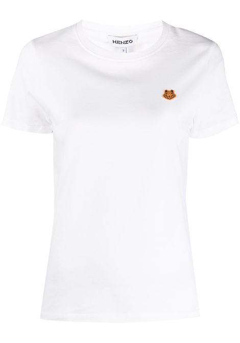 Kenzo t-shirt con logo donna blanc KENZO | T-shirt | FB52TS8434SA01B