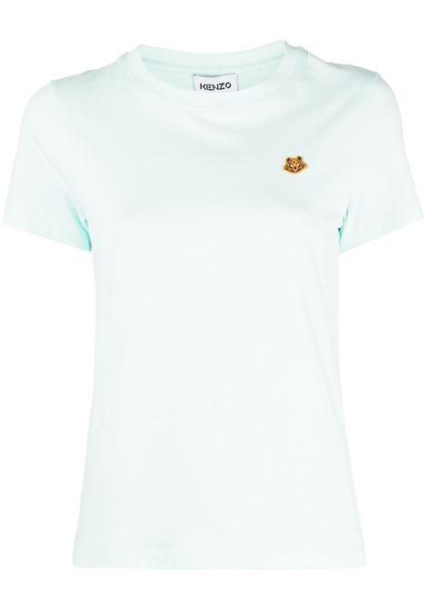 Kenzo t-shirt con applicazione donna menthe KENZO | T-shirt | FB52TS8434SA58