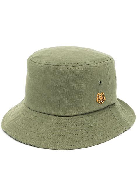 Kenzo cappello bucket donna kaki KENZO | Cappelli | FB55AC404F3450