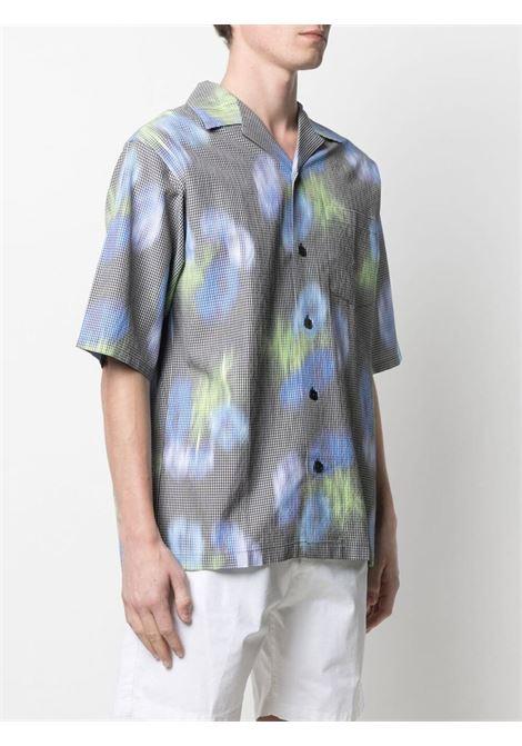 Kenzo tie-dye shirt men vert KENZO | FB55CH1409S356