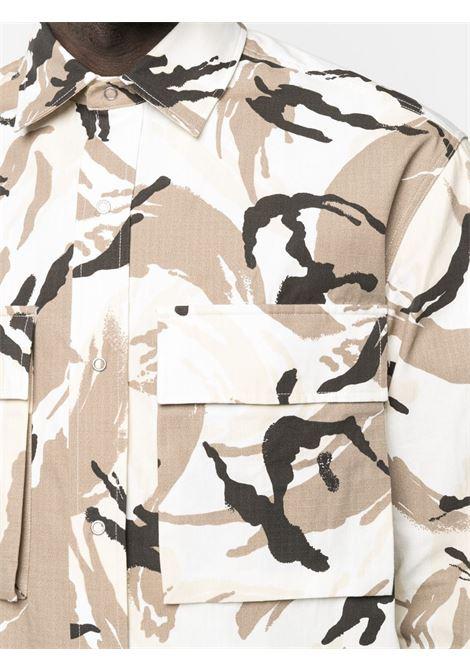Camouflage-print shirt KENZO | FB55CH5021PC02